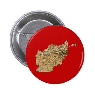 Botón del mapa de Afganistán