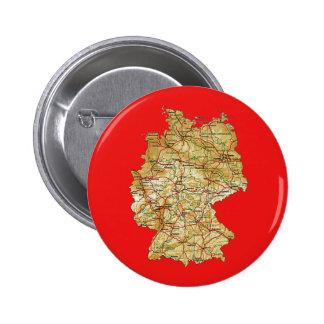 Botón del mapa de Alemania
