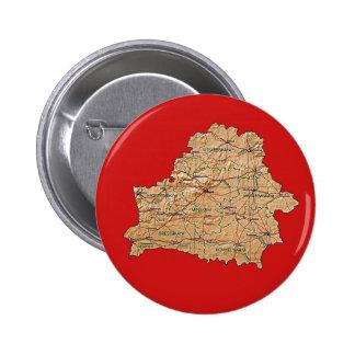Botón del mapa de Bielorrusia