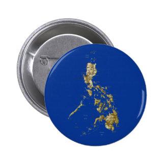 Botón del mapa de Filipinas
