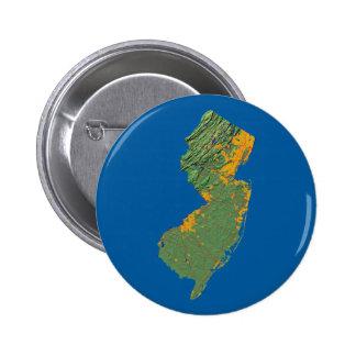 Botón del mapa de New Jersey
