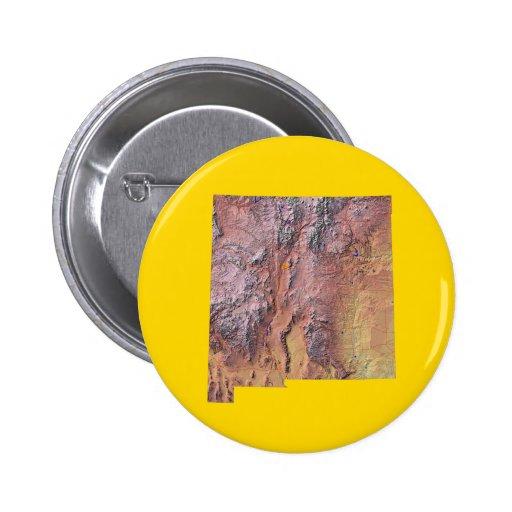 Botón del mapa de New México Pin