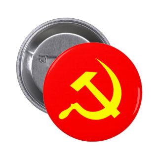 Botón del martillo y de la hoz