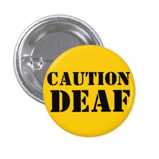 Botón del mascota de las persianas de la precaució