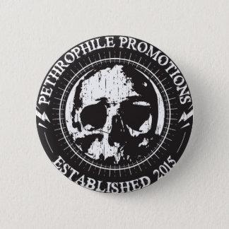 Botón del metal pesado de las promociones de