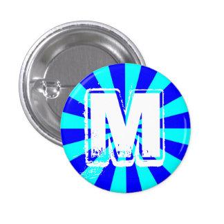 Botón del monograma de M