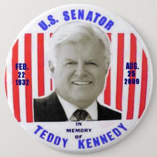 Botón del monumento de Kennedy del peluche