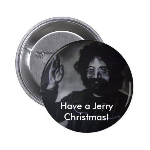Botón del navidad de Jerry Pin