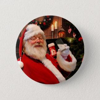 Botón del navidad del padre