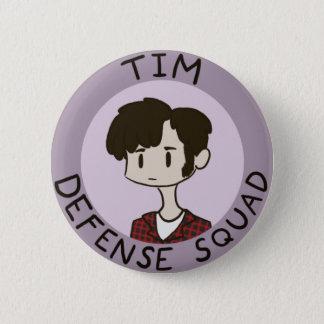 Botón del pelotón de la defensa de Tim