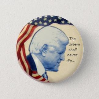 Botón del perfil de Ted Kennedy