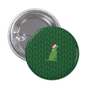 Botón del perro del navidad pins