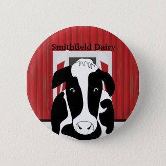Botón del personalizado del granero de la granja