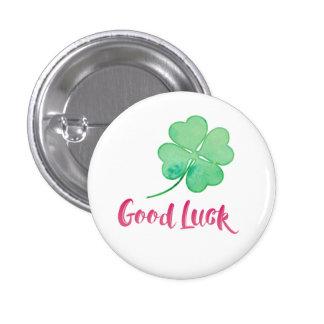 Botón del Pin de la buena suerte