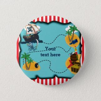 BOTÓN del Pin de la fiesta de cumpleaños del mapa