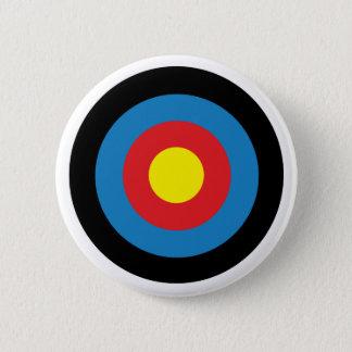 Botón del Pin de la insignia de la blanco del tiro