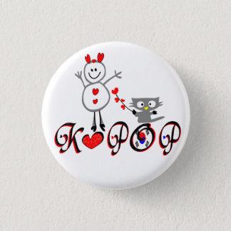 Botón del Pin del arte del vector de la fan de