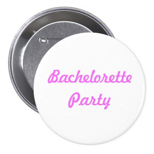 Botón del Pin del fiesta de Bachelorette