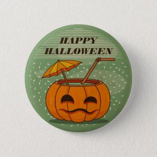 Botón del Pin del vintage el   de la bebida de la