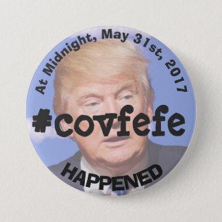 Botón del pío de Donald Trump del #covfefe