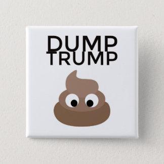 Botón del poo-poo del triunfo de la descarga