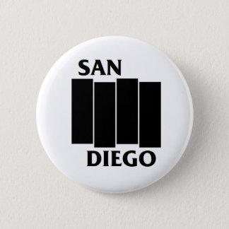 Botón del punk de la parodia de San Diego/de la