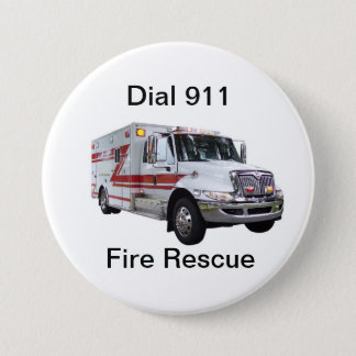 Botón del rescate del fuego