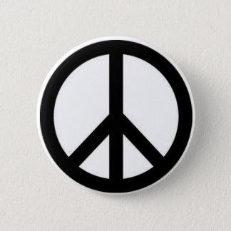 Botón del signo de la paz
