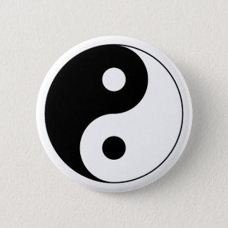 Botón del símbolo de Yin Yang