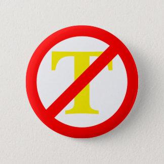 Botón del símbolo del Anti-Triunfo