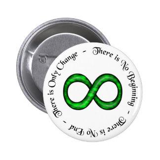 Botón del símbolo del infinito