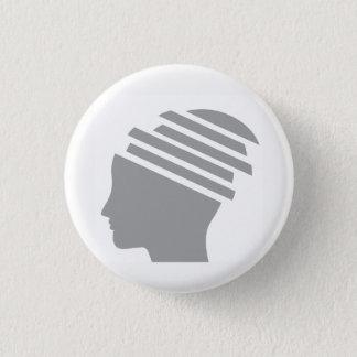 botón del superviviente del trauma