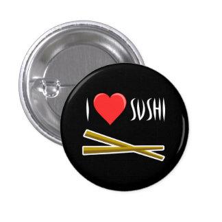 Botón del sushi del corazón I
