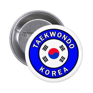 Botón del Taekwondo