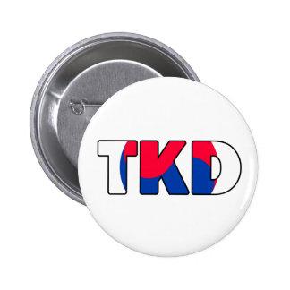 Botón del Taekwondo Pin