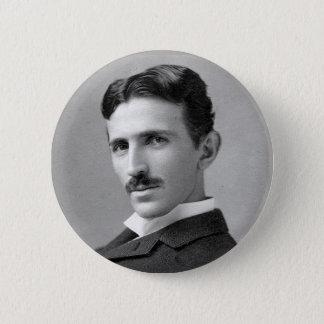 Botón del tributo de Tesla