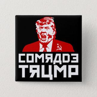 "Botón del triunfo: ""CAMARADA TRUMP"" (negro)"
