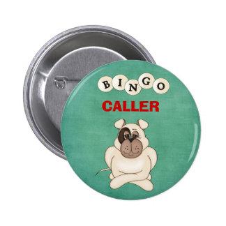 Botón del visitante del bingo