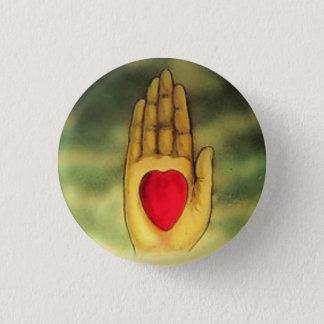 Botón disponible del corazón de las personas