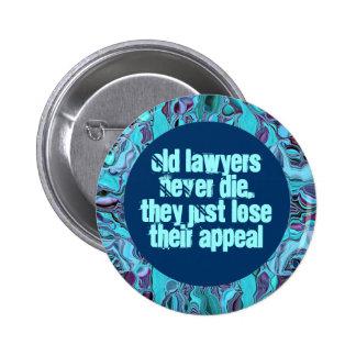 botón divertido del abogado pins
