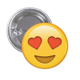 Botón divertido del smiley del emoji de los
