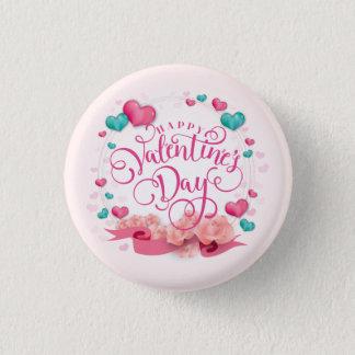 Botón elegante del el día de San Valentín de los