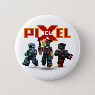 Botón épico del trío del juego el | de Pixelfield