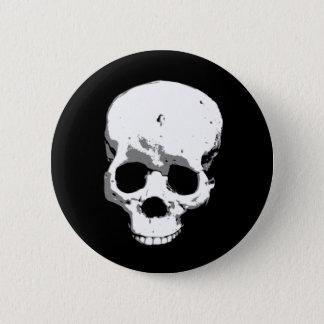 Botón espeluznante fantasmagórico del Pin de