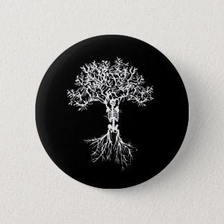 Botón esquelético del árbol
