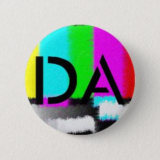 Botón estático negro de DA
