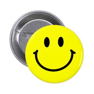 Botón feliz de la cara