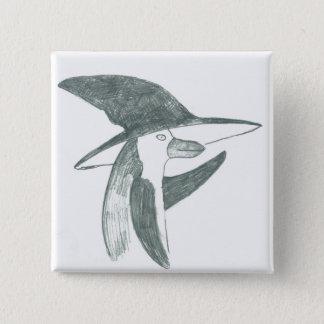 botón feliz del pingüino
