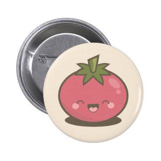 Botón feliz lindo de la insignia del Pin del