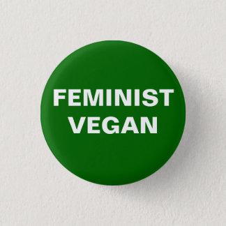 Botón feminista del vegano